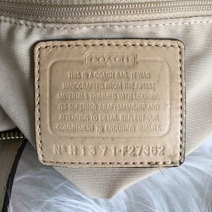 6a09fa0ca7e8 Coach Bags - Coach Purse Signature Python Stripe Tote 27362 Bag